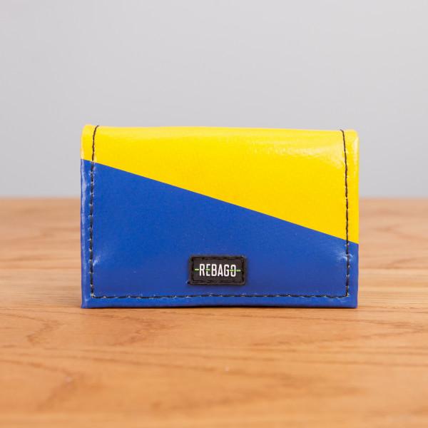 Portemonnaie Dito gelb/blau