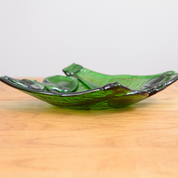 Glasschale Dali grün