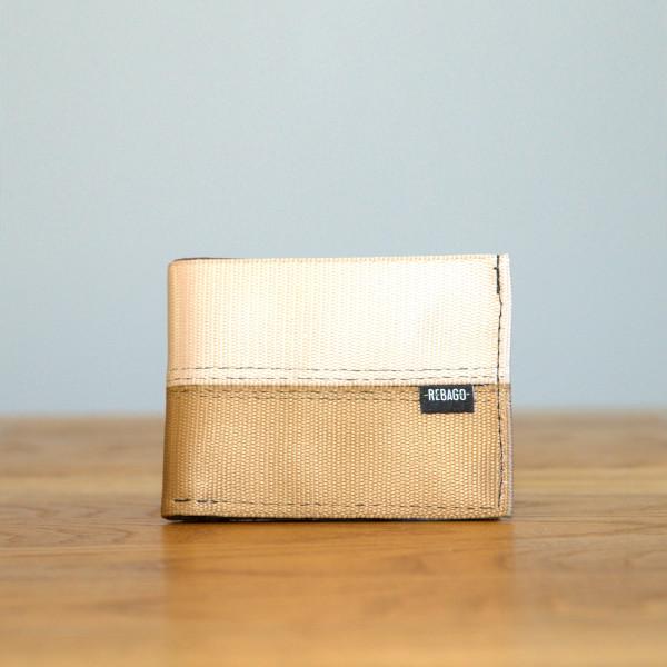 Portemonnaie Safety Cash beige/braun/grau