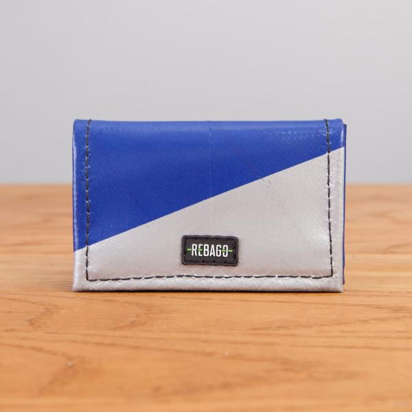 Portemonnaie Dito blau/silber