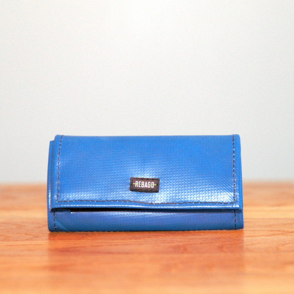 Portemonnaie Cosmo blau