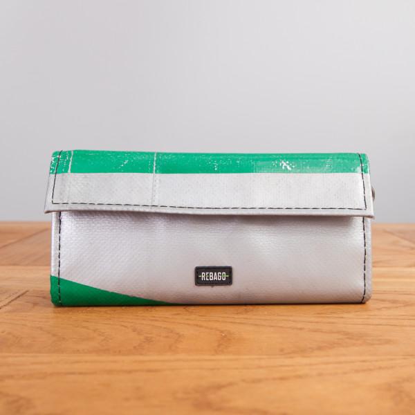 Portemonnaie Audrey grün/silber