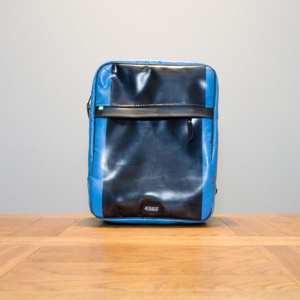Rucksack El Paquete blau/schwarz