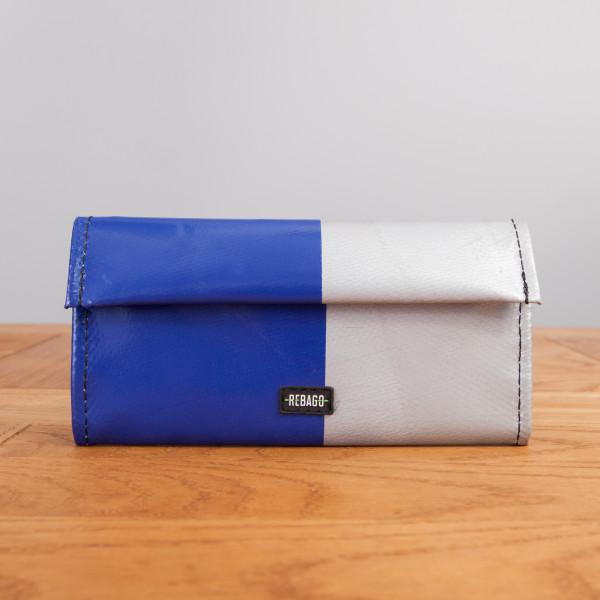 Portemonnaie Audrey blau/silber