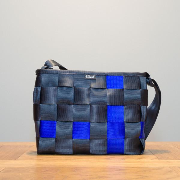 Tasche Jackie schwarz/blau