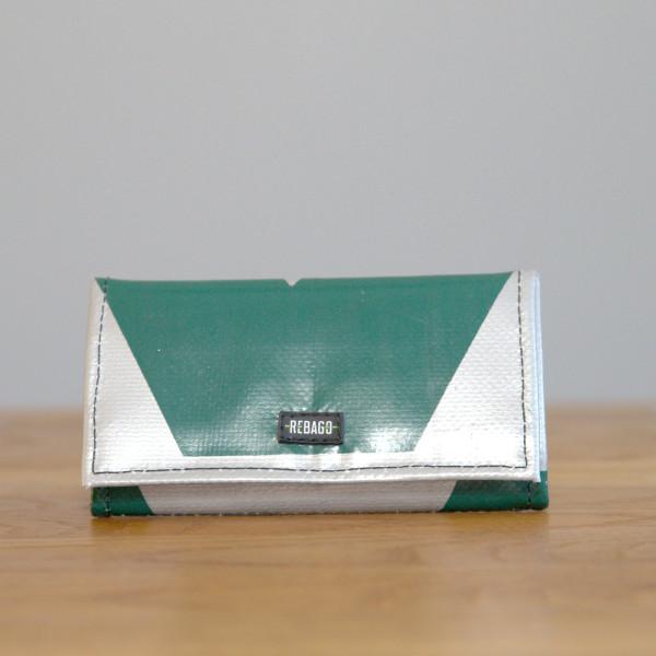 Portemonnaie Cosmo grün/silber