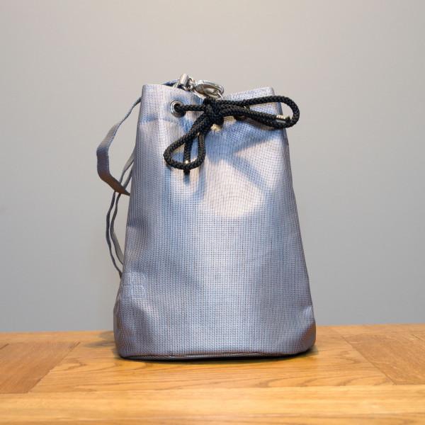 Bucket Bag KAIMANA silber
