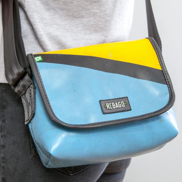 Tasche Chico blau/gelb