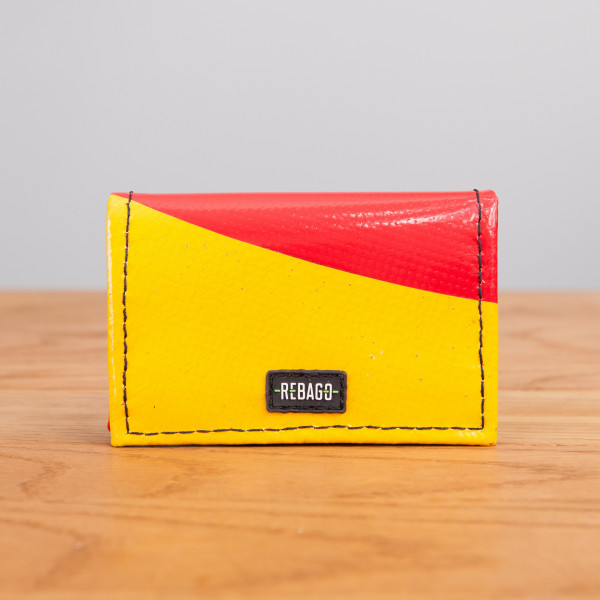 Portemonnaie Dito gelb/rot