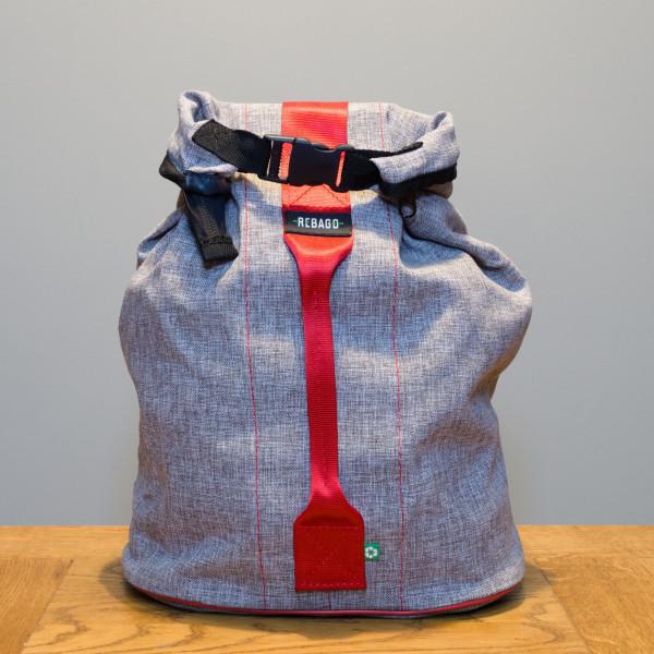 Tasche Marino grau/rot