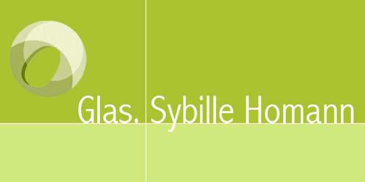Glas.Sybille Homann