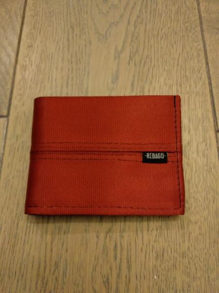 Portemonnaie Safety Cash rot/silber/schwarz