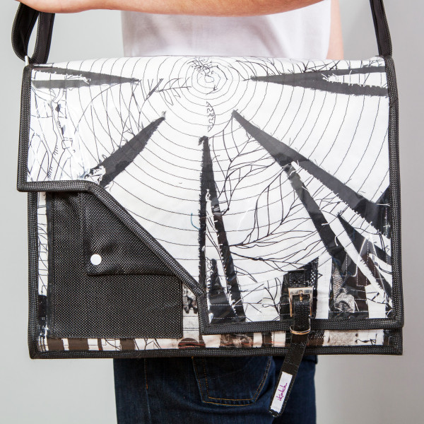 Tasche Mosaic Black&White