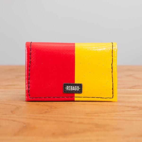 Portemonnaie Dito rot/gelb